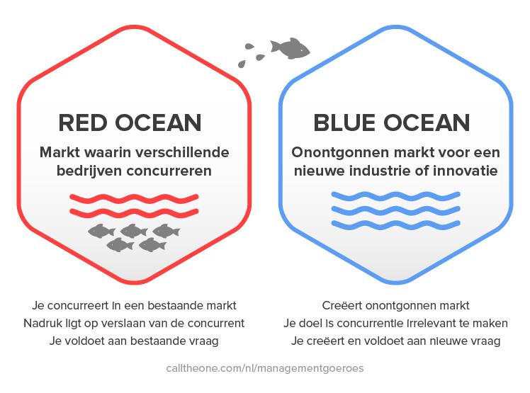 Blue ocean strategie: Van de rode naar de blauwe oceaan